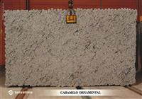 Brazil Brown Granite Blocks/Rock - CARAMELO ORNAMENTAL