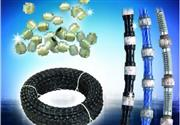 Diamond wire saw for mining,block squaring,profill