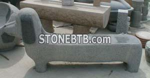 Stone Table & Bench 07