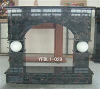 Granite Stone Fireplace