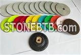wet/dry diamond polishing pad for granite/marble/concrete/engineer stone