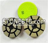 China ceramic polishing pad for stone and concrete