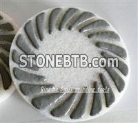 China sponge polishing pad for stone and concrete