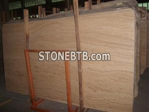 Pink Travertine Slab