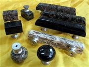Granite pulls and knobs