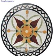 Waterjet Medallion Mosaic Pattern