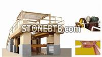 Stone Machine of Gang Saw for Marble Block