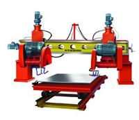 double-blade stone cutting machine
