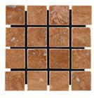Brown Travertine Mosaic