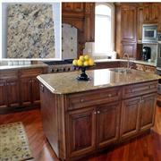 Giallo Santa Cecilia Granite Kitchen Island Tops