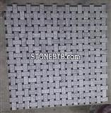 China Carrara White mosaic