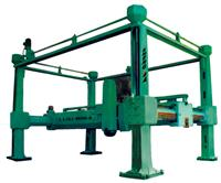 Gantry pillars cutting machine(Horizontal blade) TYPE LLQJ-1600-4
