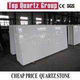 White galaxy artificial quartz stone slabs