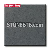 Q3305 Dark Grey Small Grain Artificial Quartz Stone slabs