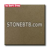 Q3533 Coffee Bean Small Grain Artificial Quartz Stone slabs