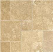 Flax Walnut Travertine Pattern