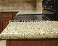 G656 Tiger Skin Yellow Kitchentop