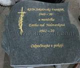 G654 Granite Tombstone