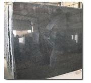 India Granite Black Galaxy Slab.