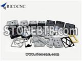 CNC Vacuum Rubber Pad Cover Vacuum Cups and Pods Suction Plates for Homag Weeke Biesse SCM CNC Routers