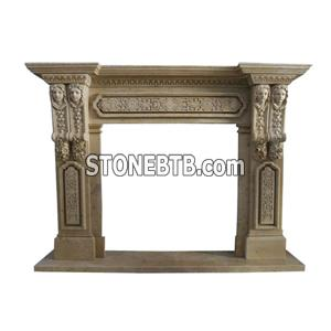 Fireplace Mantel-FM12