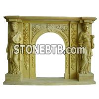 Fireplace Mantel-FM25