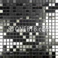 Metal mosaic-2-bkbrush15x15mm