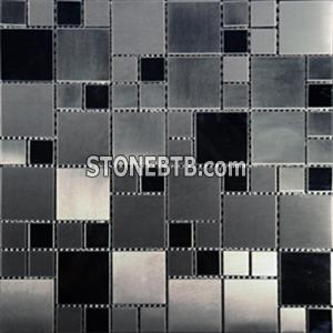 Metal mosaic-2-black-jumbo