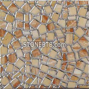 Glass mosaic 008