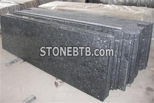 Gray granite countertop