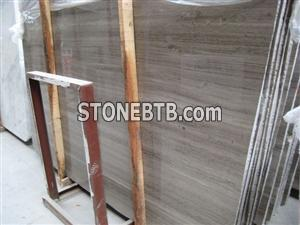 Grey wooden marble Slab
