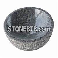 Gray Granite sink