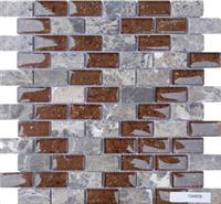 Glass Stone Mosaic Tile (SF234808)