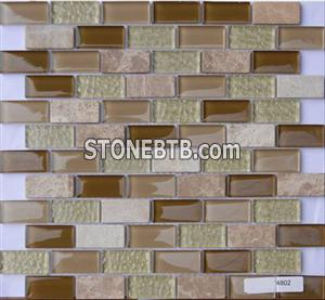 Glass Stone Mosaic Tile SF234802