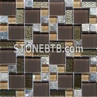 Glass Mosaic Tiles-SF4802