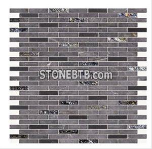 Glass Stone Mosaic Tile (SF9008)