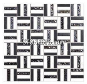 Glass Stone Mosaic Tile SF9010