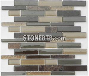 Glass Stone Mosaic Tile (SF2302)