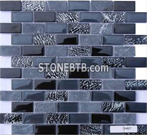 Glass Stone Mosaic Tile (SF234807)