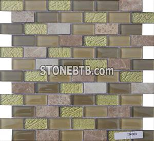 Glass Stone Mosaic Tile (SF234803)