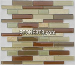 Glass Stone Mosaic Tile SF2303