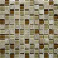Crystal Mix Stone Mosaic Tile (SF23002)