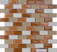 Glass Stone Mosaic Tile (SF234812)