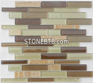 Glass Stone Mosaic Tile (SF2308)