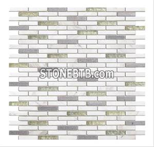 Glass Stone Mosaic Tile SF9001