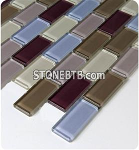 Glass Mosaic Tile SSF23034