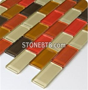 Glass Mosaic Tile (SSF23033)