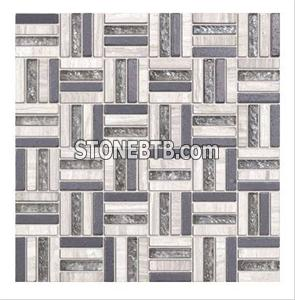 Glass Stone Mosaic Tile (SF9006)