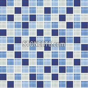 Glass Mosaic Tile SSF23014