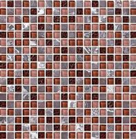 Glass Mix Stone Mosaic Tile (SF61501)